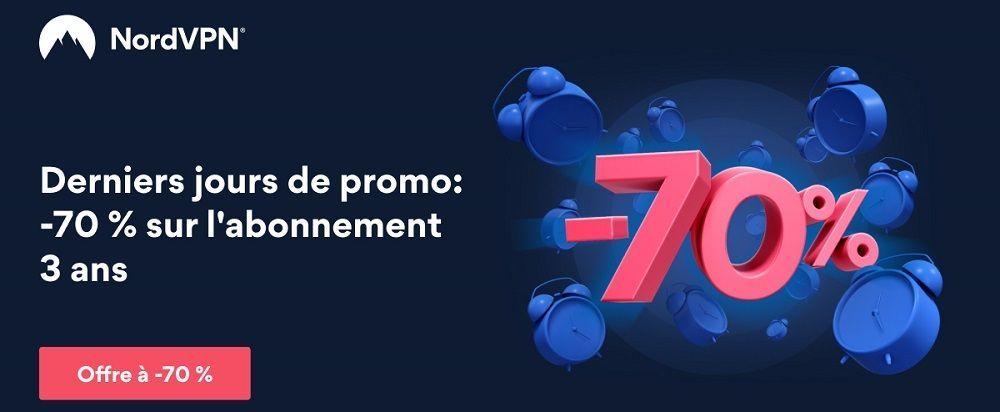 Deal Nord VPN 70%