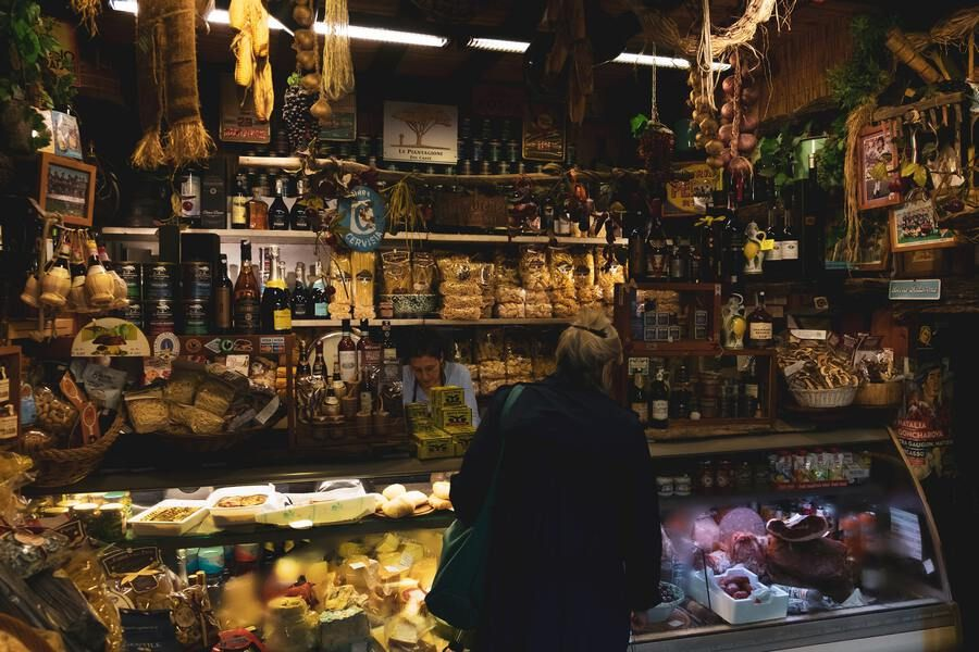 Explore the culinary wonders of Florence's markets