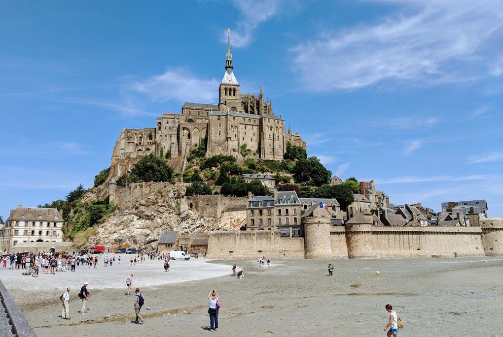 Mont. St. Michel in France
