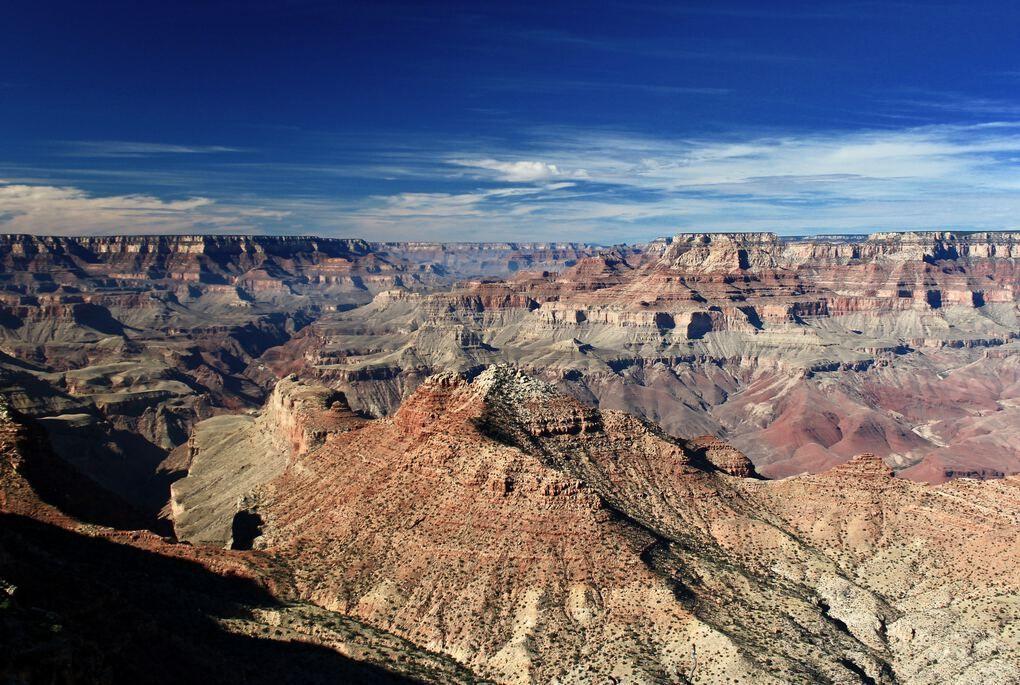 Grand Canyon vista panoramica