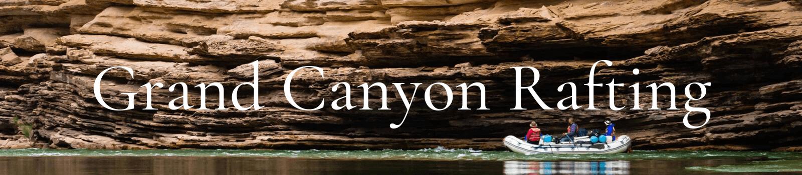 Grand Canyon Rafting Bannre