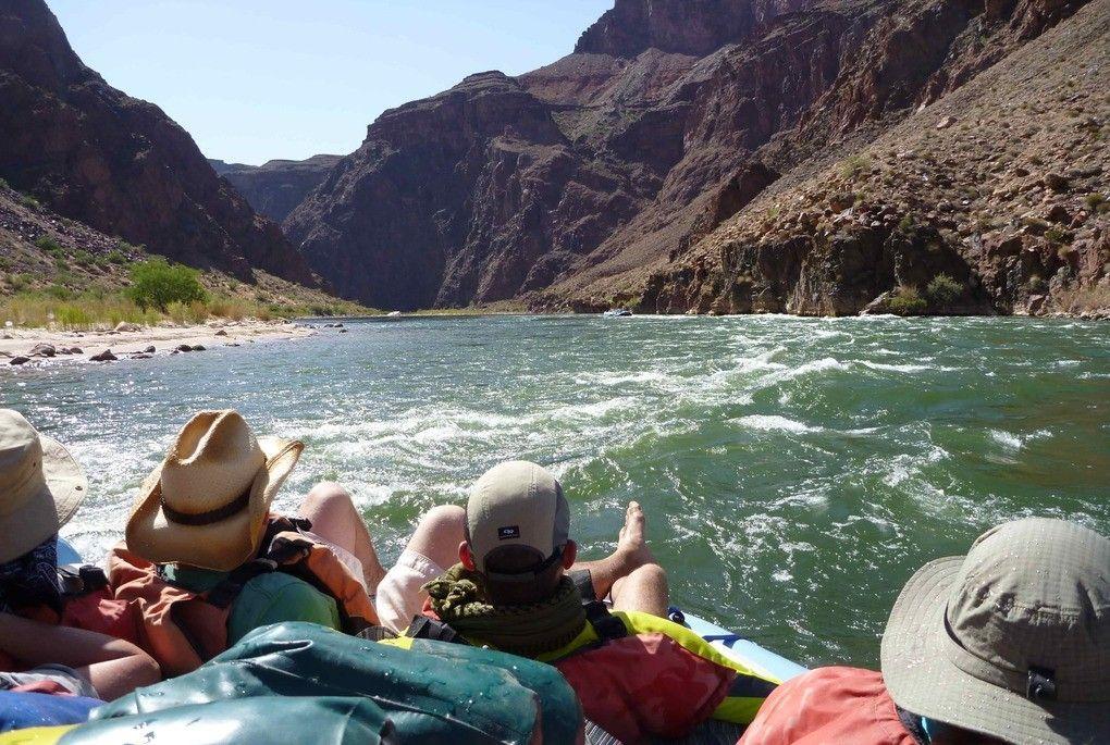 Rafting al Gran Canyon