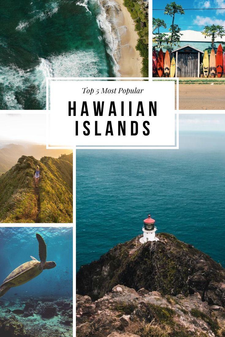 Most Popular Hawaiian Islands  Pinterest
