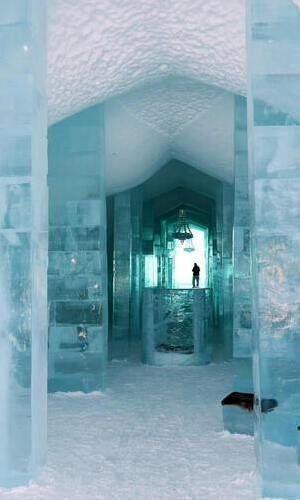 hotel di ghiaccio svezia