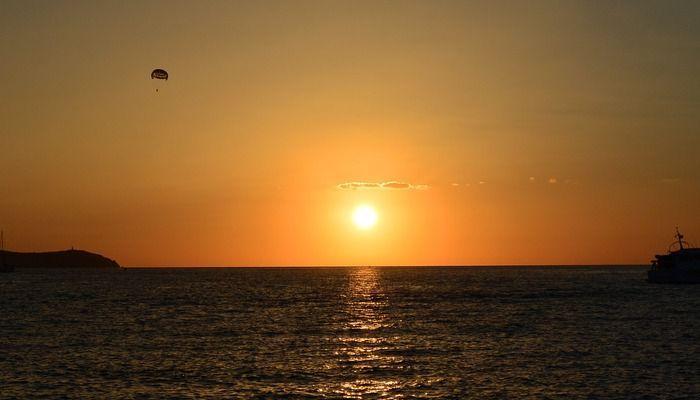 Zonsondergang Ibiza