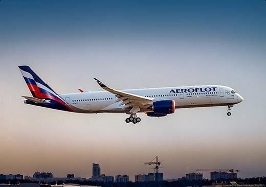 Avion Russie Moscou