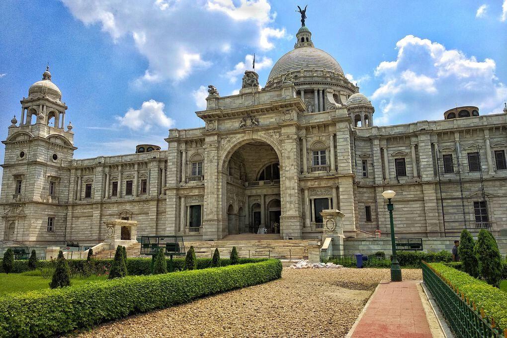 India Victoria Memorial Hall Calcutta
