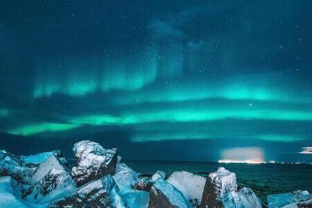 aurora boréale en islande