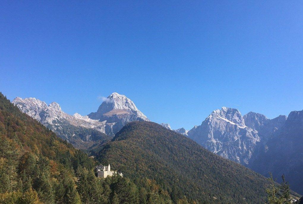 Castle Predil, a few hours north of Kobarid, on the Italian border