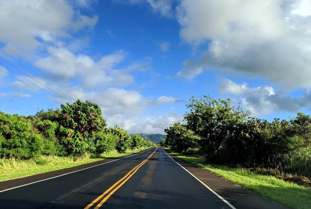 Road through Kauai