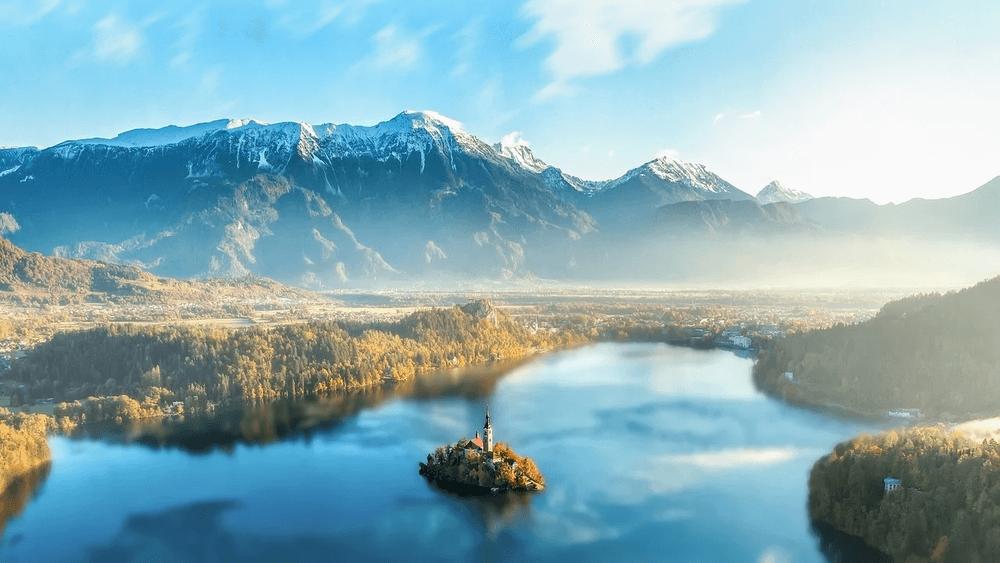 Slovenia lago di Bled