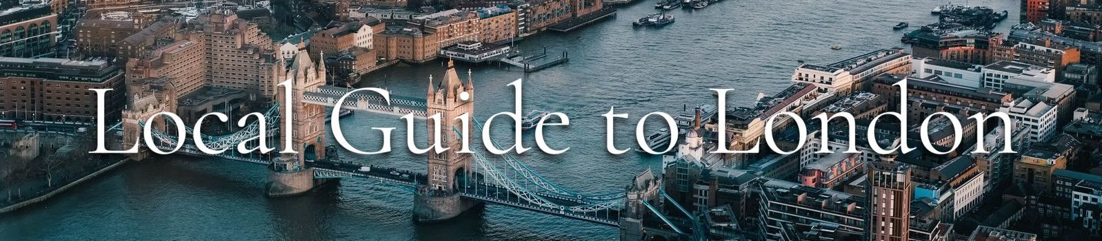 Locals guide to london banner