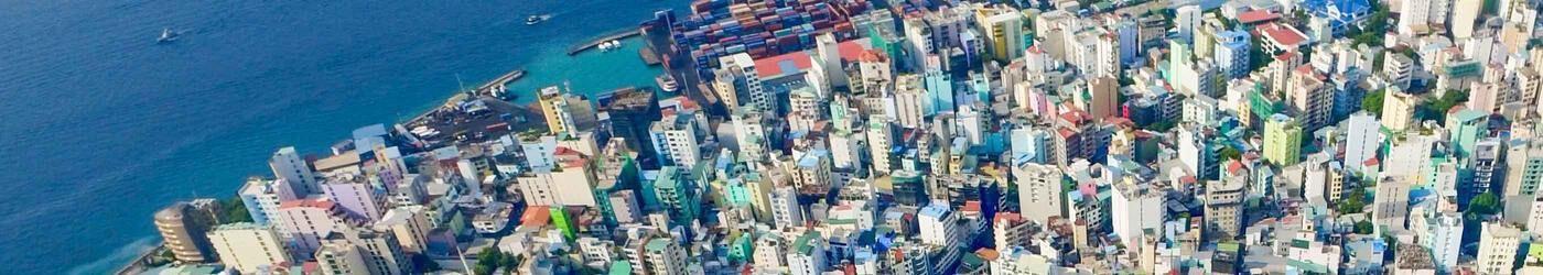 maldive malè città