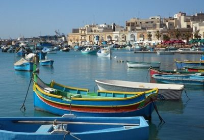 Vakantie Malta vissershaven
