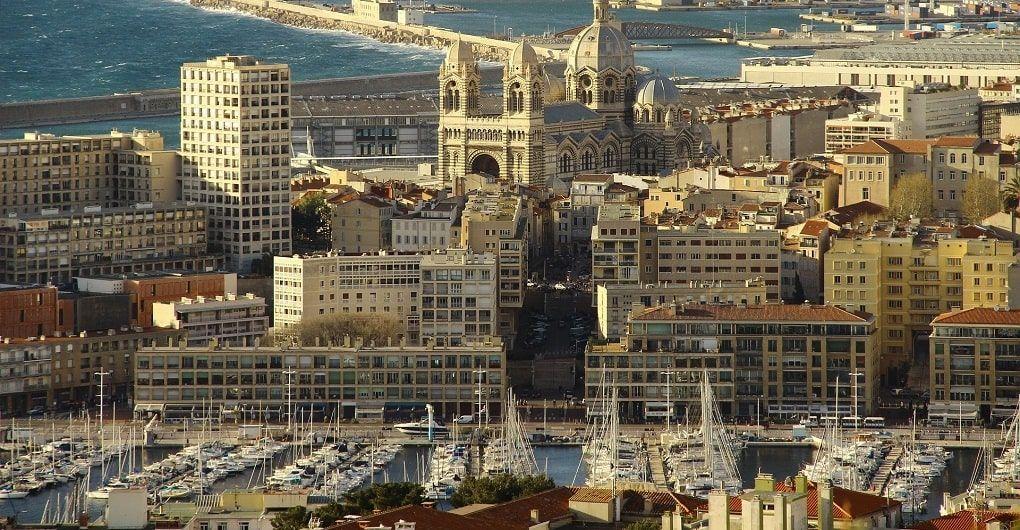 Marseille Vue Aerienne