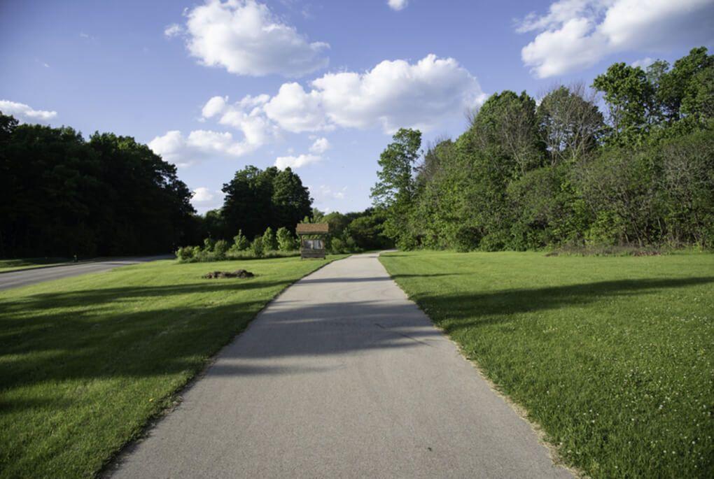 Oak Leaf Trail path