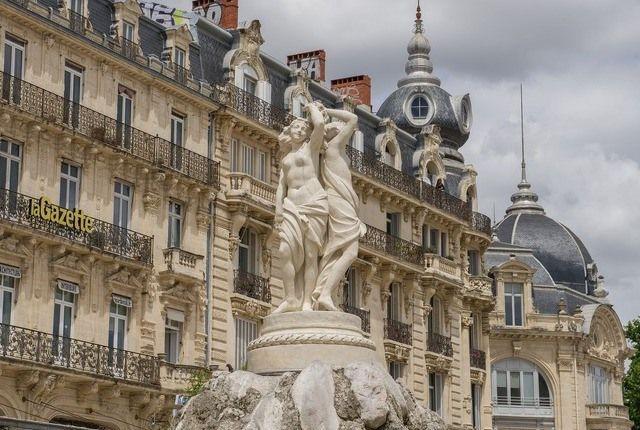 Montpellier Brunnen