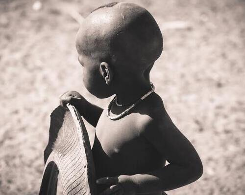 namibia bambini