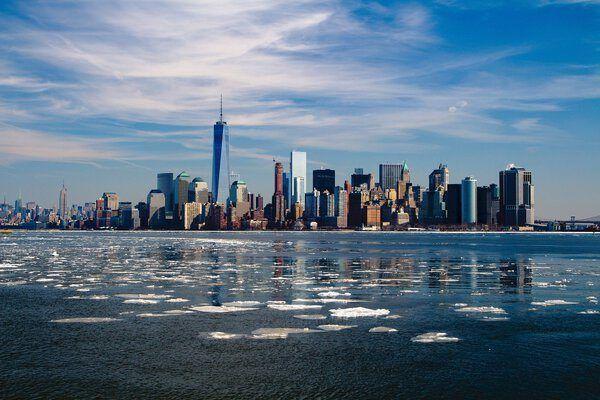 New York Hudson Rivier