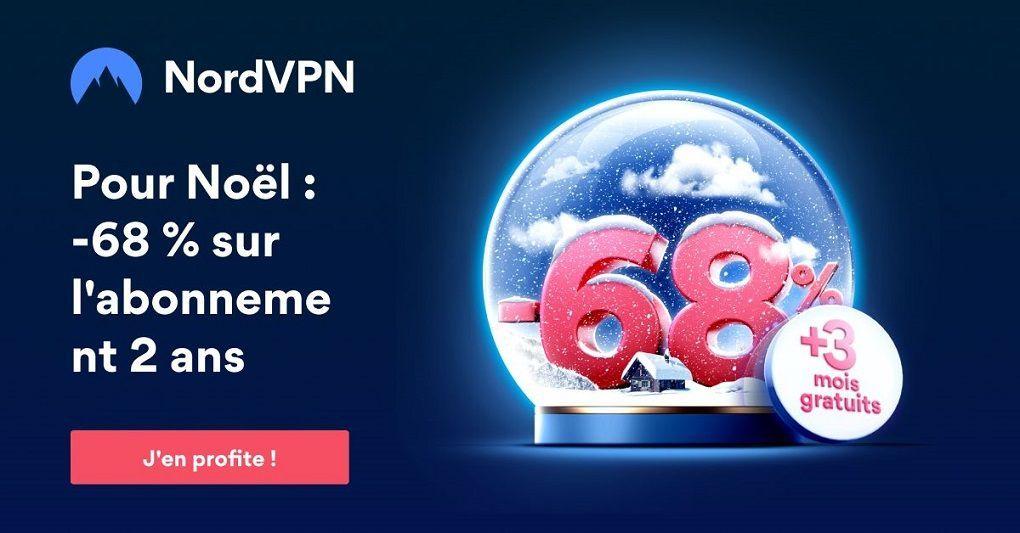 Nord VPN offre Noel