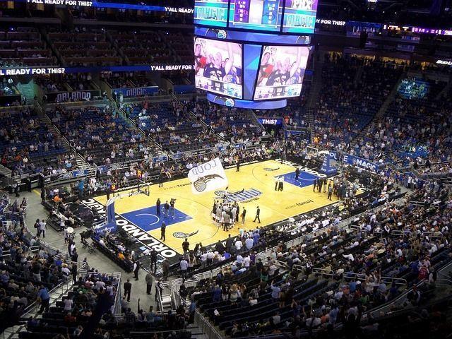 Orlando basketball game