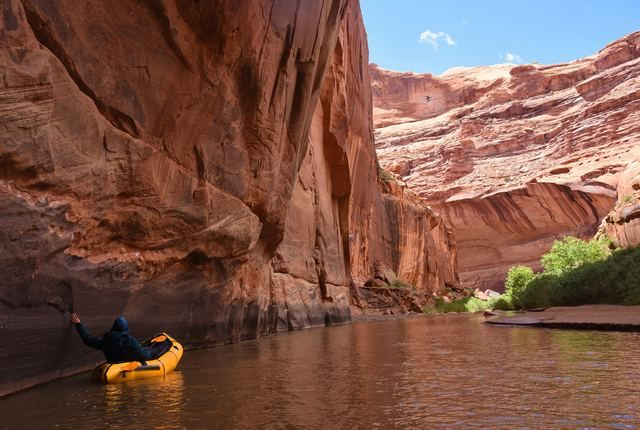 Packrafting tour