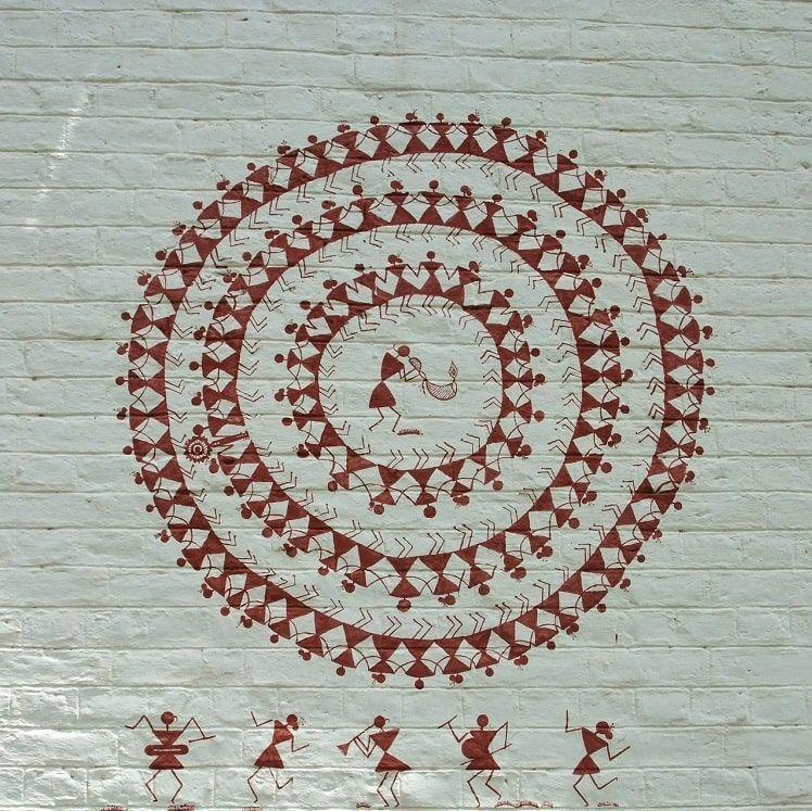Peinture Warli Inde