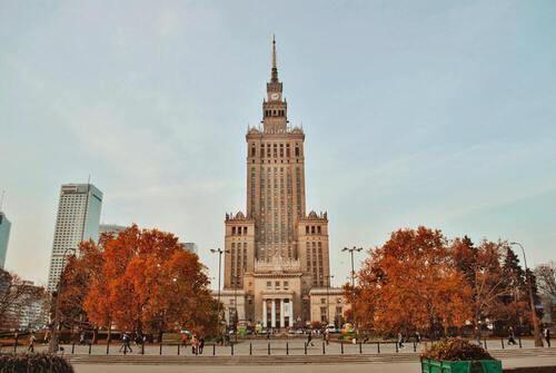 Polen gebouw