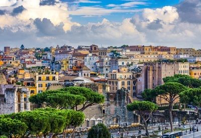 Visiter Rome Lungotevere