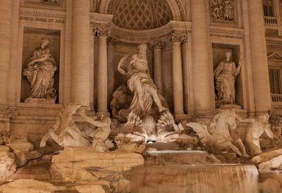 Visiter Rome Fontaine de Trevi