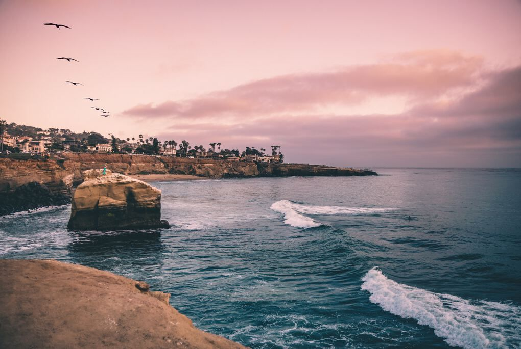 San Diego Things to Do #7 - Sunset Cliffs