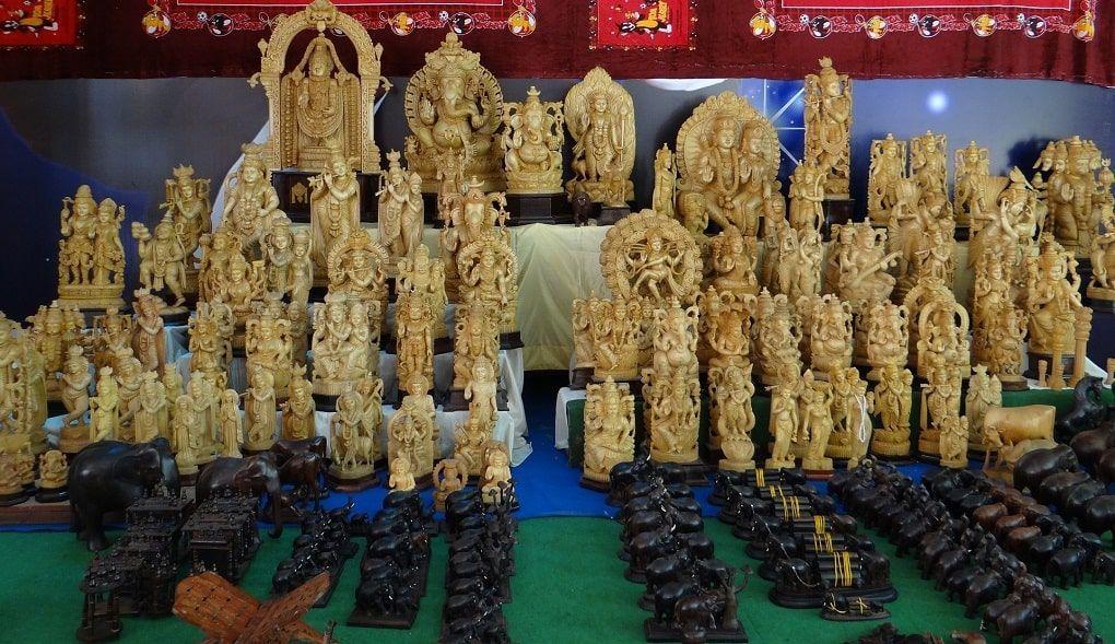 Sculptures Souvenirs Inde