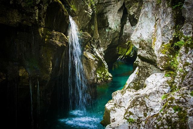 Give Canyoning in Slovenia a Try