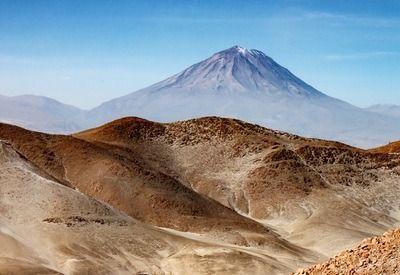 Andes Gebergte Zuid Amerika