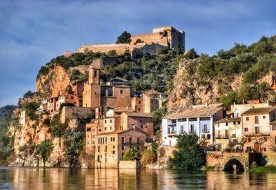 Spanje rotsen stad