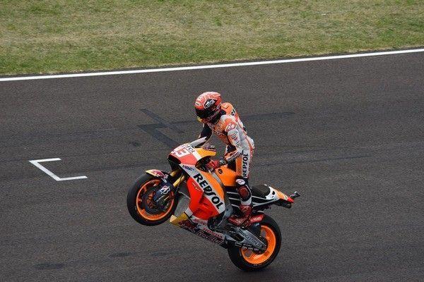 Marc Marquez op Respol Honda MotoGP