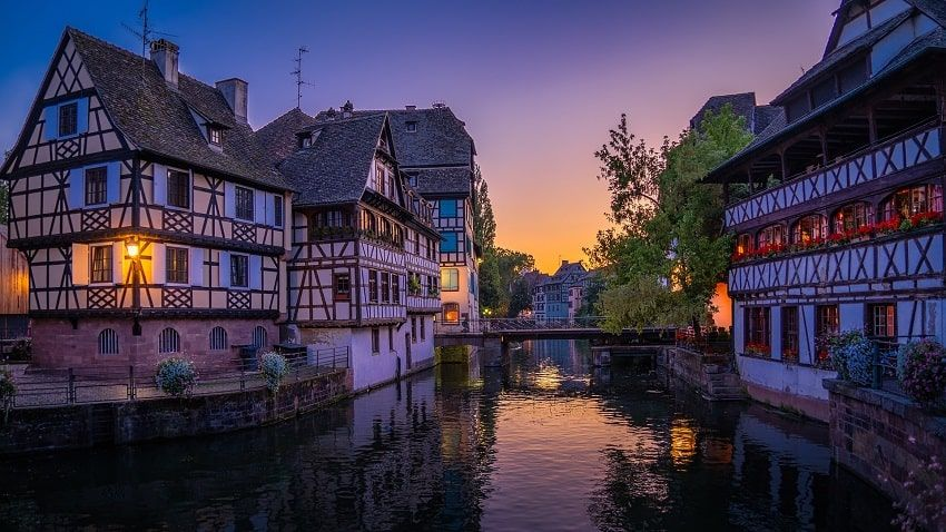 Strasbourg Maisons Colombages