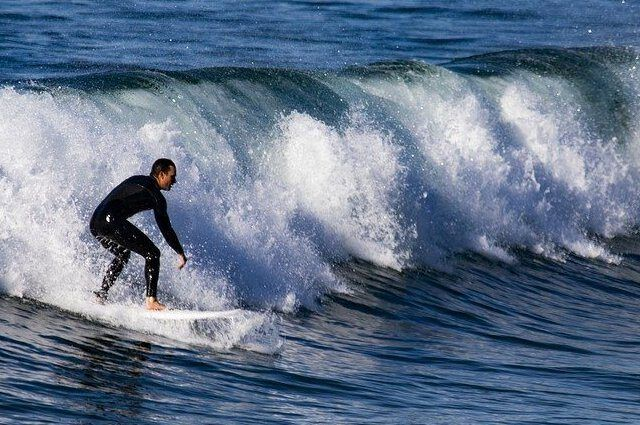 Surfing Pembrokeshire Wales