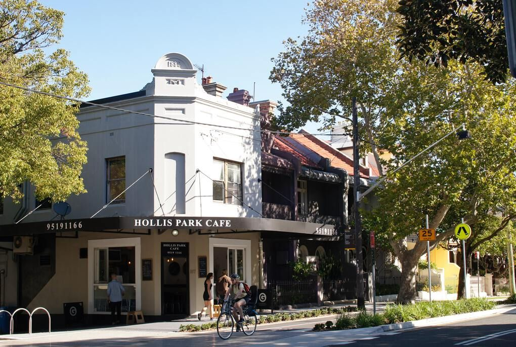 Cafe in Newton, Australia