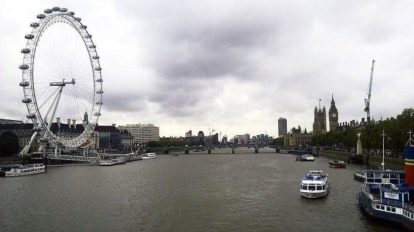 Tamise vue Big Ben