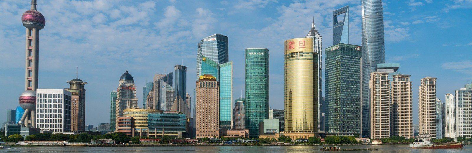 Shanghai città più grande della Cina