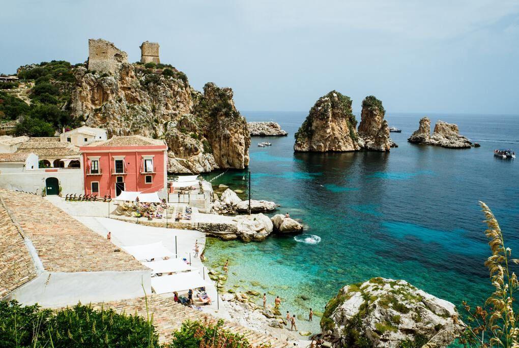 Sicily seaside