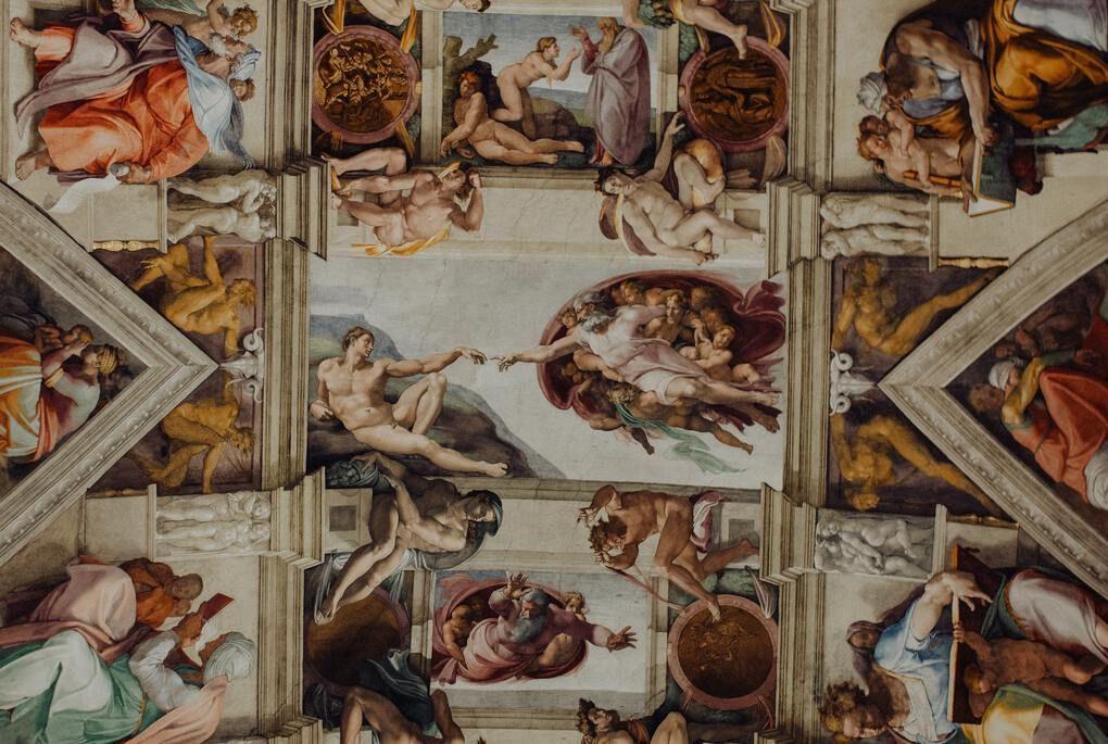 Sistine Chapel in Vatican Museum