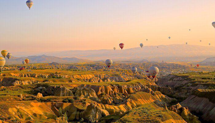 Luchtballonnen Turkije