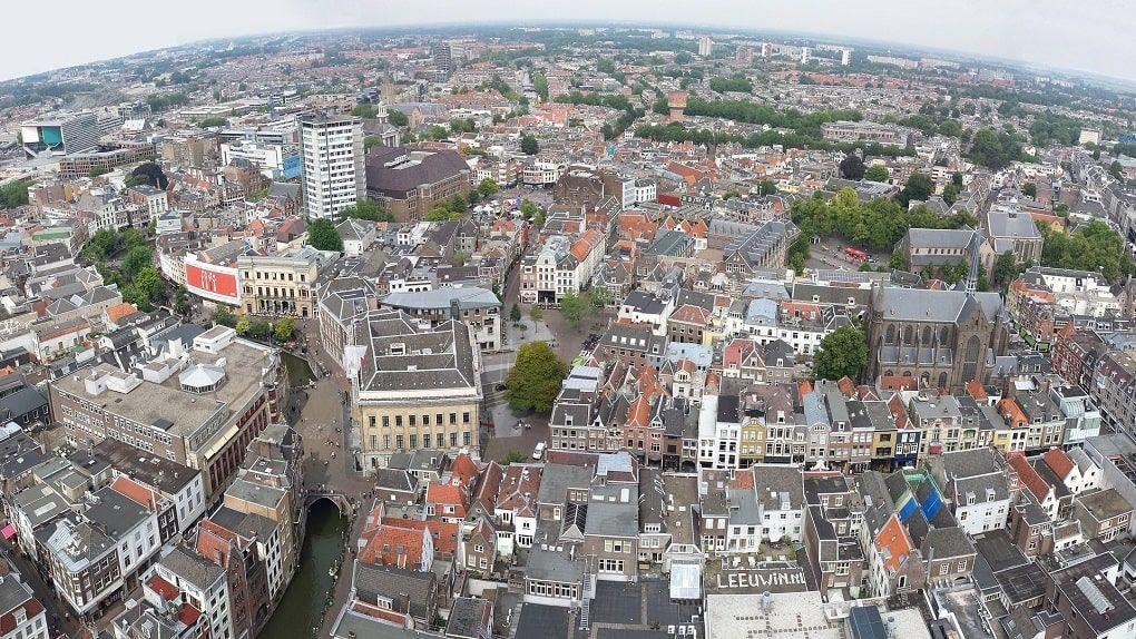 Utrecht Vue Aerienne