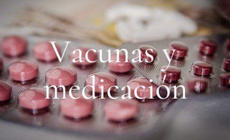 vacunas y medicacion