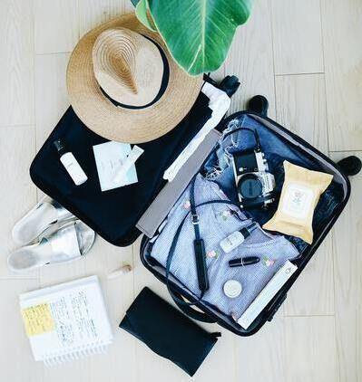 valigia leggera