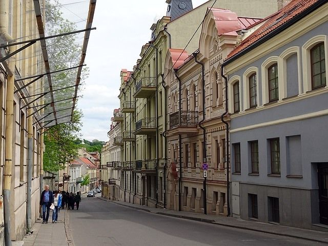 Wander the Old Town of Vilnius