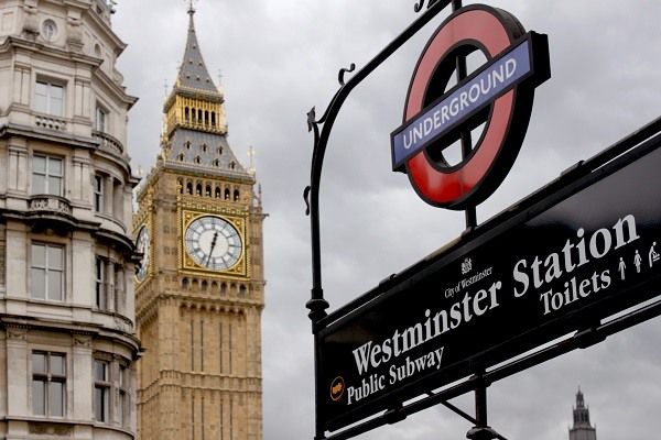 Westminster Metro Station Big Ben