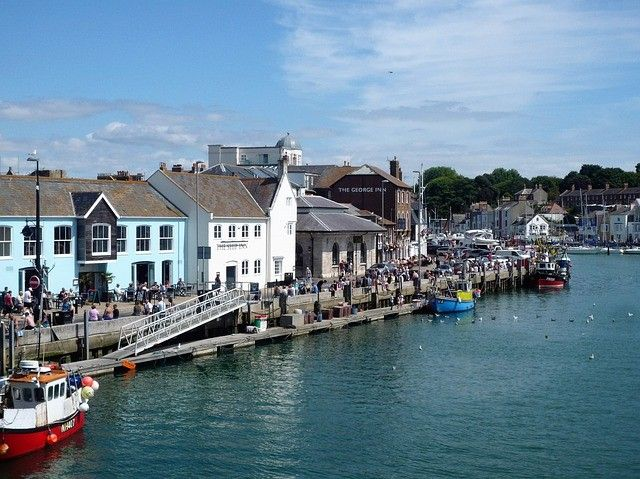 Enjoy a Drink at Weymouth Harbour